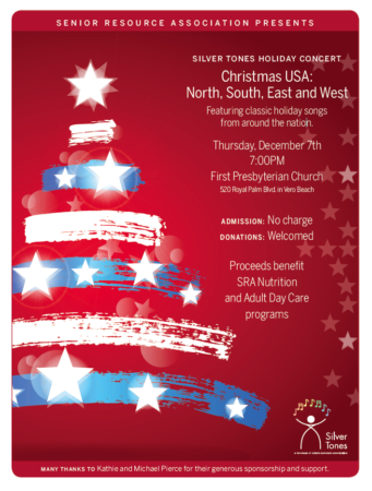 Silver Tones Holiday Concert | Christmas: North, South, East and West @ First Presbyterian Church